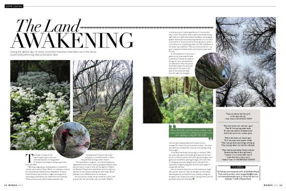 The Land Awakening, Love Local, March 2014